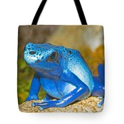 Blue Poison Dart Frog Tote Bag