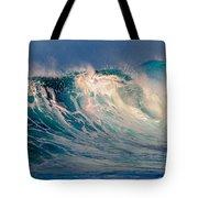 Blue Power. Indian Ocean Tote Bag
