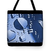 Blue Rain  Tote Bag by Chris Berry