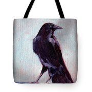 Blue Raven Tote Bag