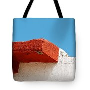 Blue Red And White Tote Bag