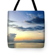 Blue Relax Tote Bag