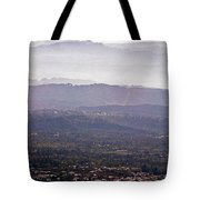 Blue Remembered Hills Tote Bag