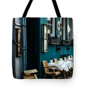 Blue Restaurant Tote Bag