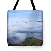 Blue Ridge Fog Tote Bag