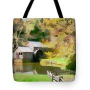 Blue Ridge Grist Mill Tote Bag
