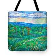 Blue Ridge Meadow Tote Bag