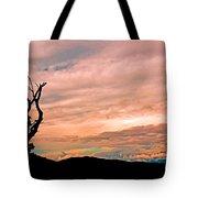 Blue Ridge Mountain Sunrise Panoramic  Tote Bag