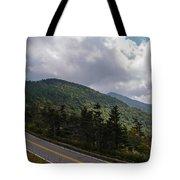 Blue Ridge Mountains And Blue Ridge Parkway Tote Bag