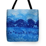 Blue Ridge Original Painting Tote Bag