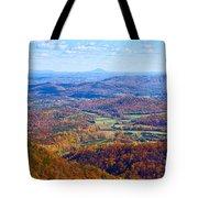 Blue Ridge Parkway Overlook Tote Bag