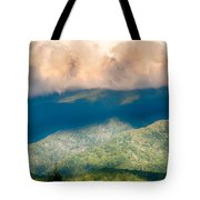 Blue Ridge Parkway Scenic Mountains Overlook Summer Landscape Tote Bag