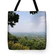 Blue Ridge Parkway Scenic View Tote Bag