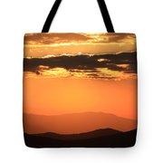 Blue Ridge Parkway Sunset-north Carolina Tote Bag