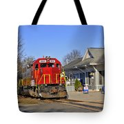 Blue Ridge Scenic Railway Tote Bag