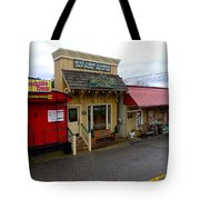 Blue Ridge Store Fronts Tote Bag