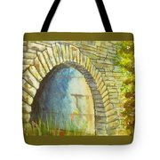 Blue Ridge Tunnel Tote Bag