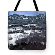 Blue Ridge Vista Tote Bag