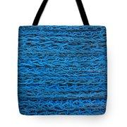 Blue Rope Stack Tote Bag
