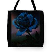 Blue Rose Tote Bag