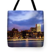 Blue Savannah Tote Bag