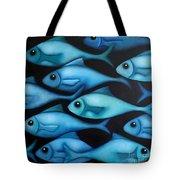 Blue School 2 Tote Bag