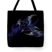 Blue Scorian Tote Bag
