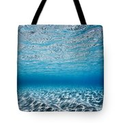Blue Sea Tote Bag by Sean Davey