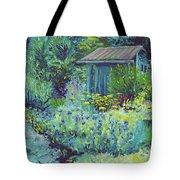 Blue Shed Tote Bag