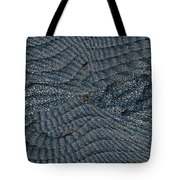 Blue Sheets Tote Bag by Tim Allen