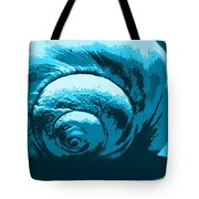 Blue Shell - Sea - Ocean Tote Bag