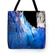 Blue Shivers Tote Bag