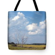 Blue Skies And Trees Tote Bag