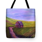 Blue Skies In The Hill Country Tote Bag