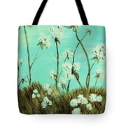 Blue Skies Over Cotton Tote Bag