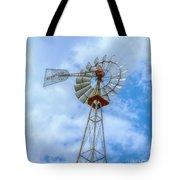 Blue Sky Aermotor Windmill Tote Bag