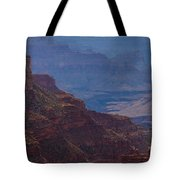 Blue Sky And Red Mountains Tote Bag