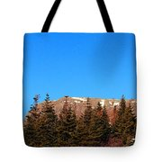 Blue Sky - Cliff - Trees Tote Bag