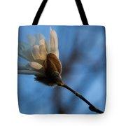 Blue Sky Magnolia Blossom - Dreaming Of Spring Tote Bag