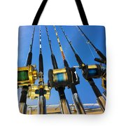 Blue Sky Rods Tote Bag