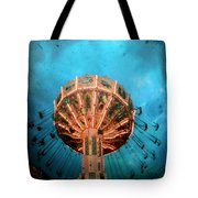 Blue Sky Swings Tote Bag