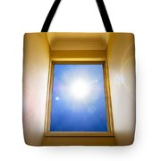 Blue Sky Window Tote Bag