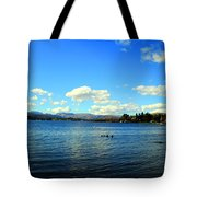 Beautiful English View Tote Bag