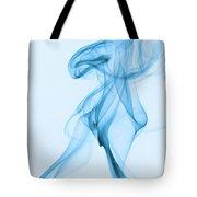 Blue Smoke Tote Bag