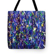 Blue Snapdragons Tote Bag