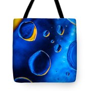 Blue Space Ice Tote Bag
