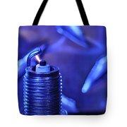 Blue Spark Tote Bag