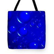 Blue Sphere-abstract Tote Bag