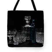 Blue Standout Tote Bag