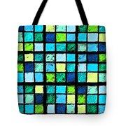 Blue Sudoku Tote Bag